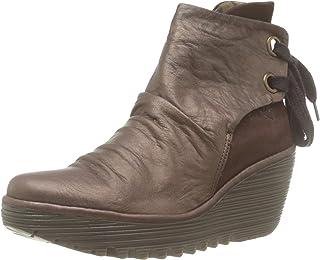 أحذية طويلة للكاحل للنساء من فلاي لندن