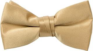 Men/'s Spring Garden Black Cotton Boxed Banded Bow Tie