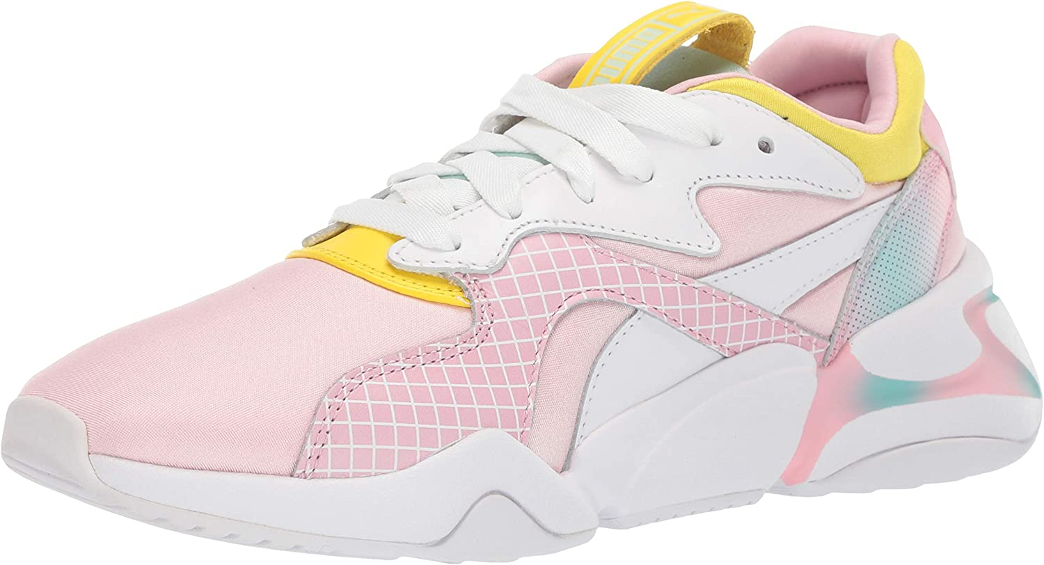 PUMA Womens Nova X Barbie Sneaker