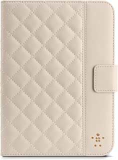 Belkin Quilted Cover with Stand for iPad Mini (Cream)