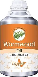 Crysalis Wormwood (Artemisia Absinthium) Essential Oil 100% Pure & Natural Undiluted Uncut Oil 5000ml