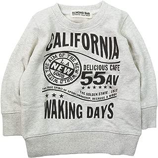 《秋冬春对应》 ALMOND BAR(杏仁棒)毛圈布 CALIFORNIA印花运动衫 NO.AH-83404 [対象] 72ヶ月 ~ Om 120