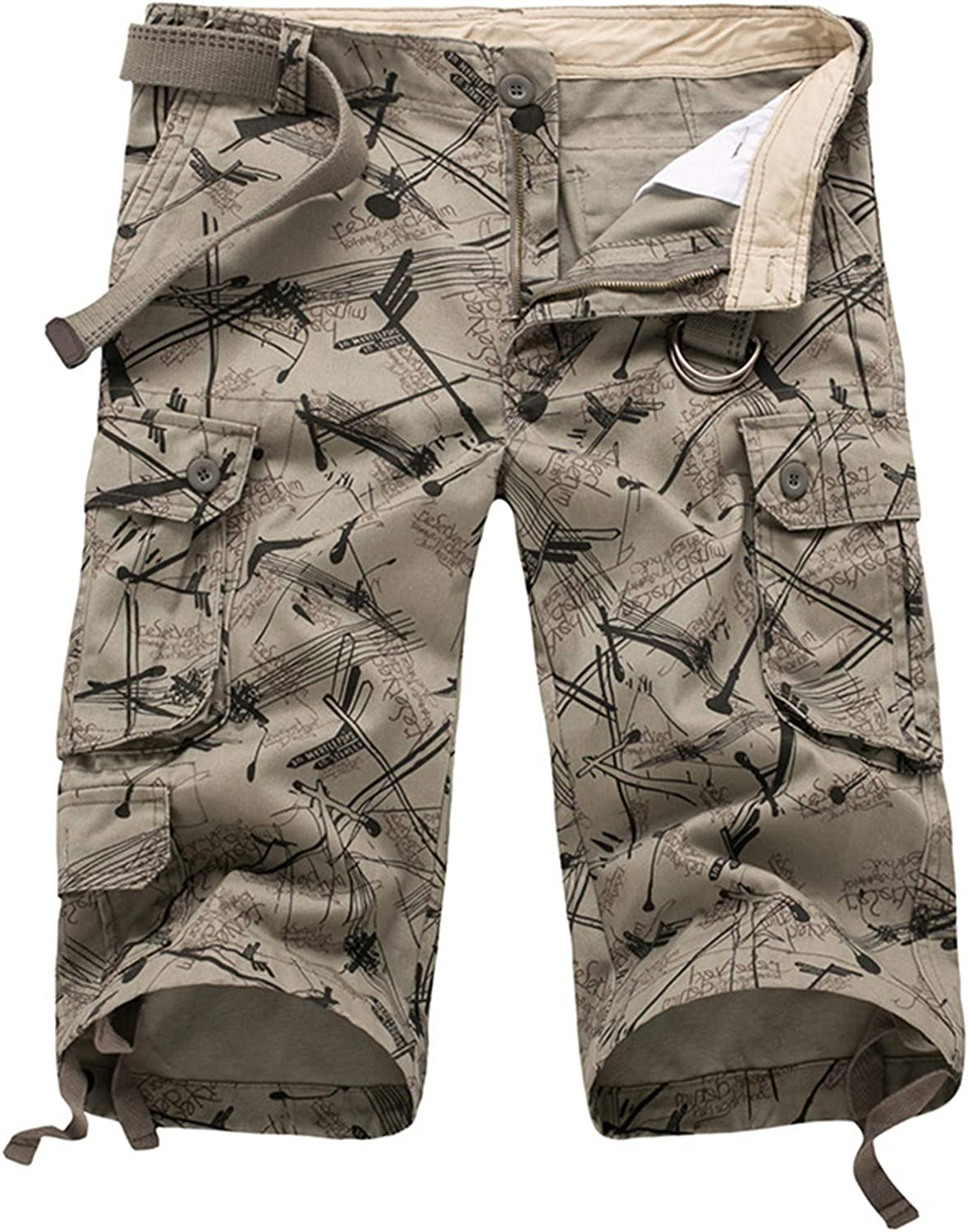 Summer Men's Cargo Rapid rise Beach Dallas Mall Shorts Casual Camo Mil Baggy Camouflage