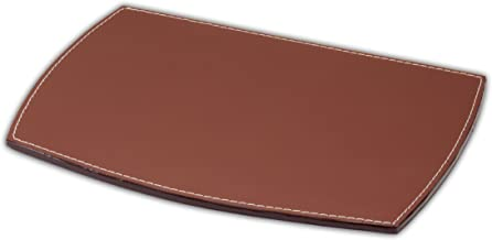 Dacasso Rustic Brown Leather Mouse Pad