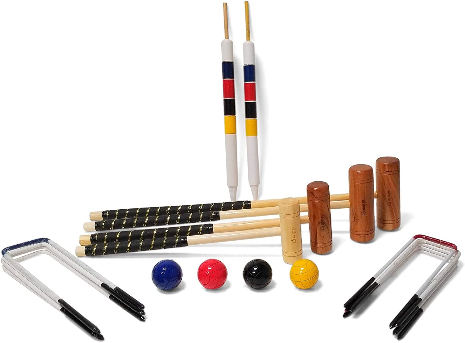 Uber Games Now free shipping 9 Croquet Sets Virginia Beach Mall Wicket