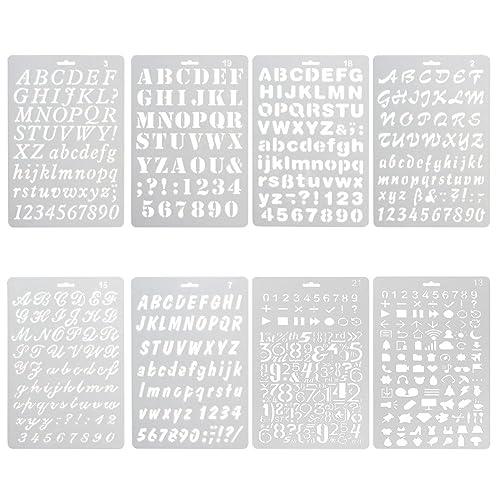Stencil Fonts: Amazon com