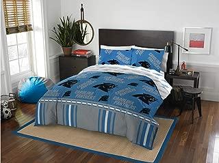 Carolina Panthers NFL Queen Comforter & Sheets, 5 Piece NFL Bedding, New! + Homemade Wax Melts