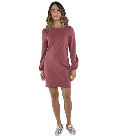 Carve Designs Lenora Dress (Brick/Rose) Women