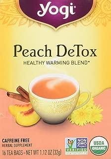 Yogi Peach Detox Tea - 16 Bags