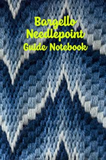 Bargello Needlepoint Guide Notebook: Notebook|Journal| Diary/ Lined - Size 6x9 Inches 100 Pages