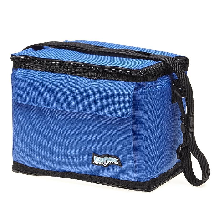 FlexiFreeze Freezable 9 Can Cooler, Royal Blue vlywthft84358