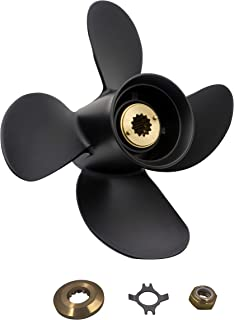 Aluminum 4 Blades Prop Propeller(with All Kits) for Mercury Outboard 30-75HP