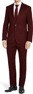 Men's Classic Fit 2 Piece Suit