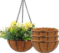 Metal Flowerpot Garden Planter Trough Flower Garden Plant Pot Container Decor
