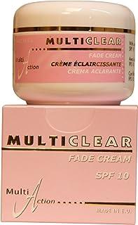 Fade Cream - Crema Aclaradora MULTICLEAR - 100ML. Con Ácido Kojico y Protección Solar