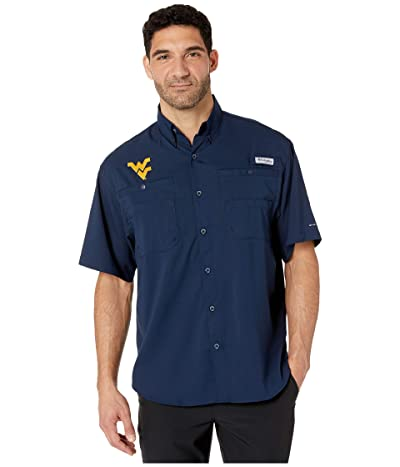 Columbia College West Virginia Mountaineers Collegiate Tamiamitm II Short Sleeve Shirt (Collegiate Navy) Men
