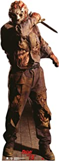 Advanced Graphics Jason Voorhees Life Size Outdoor Cutout - Yard Sign For Outdoor Use