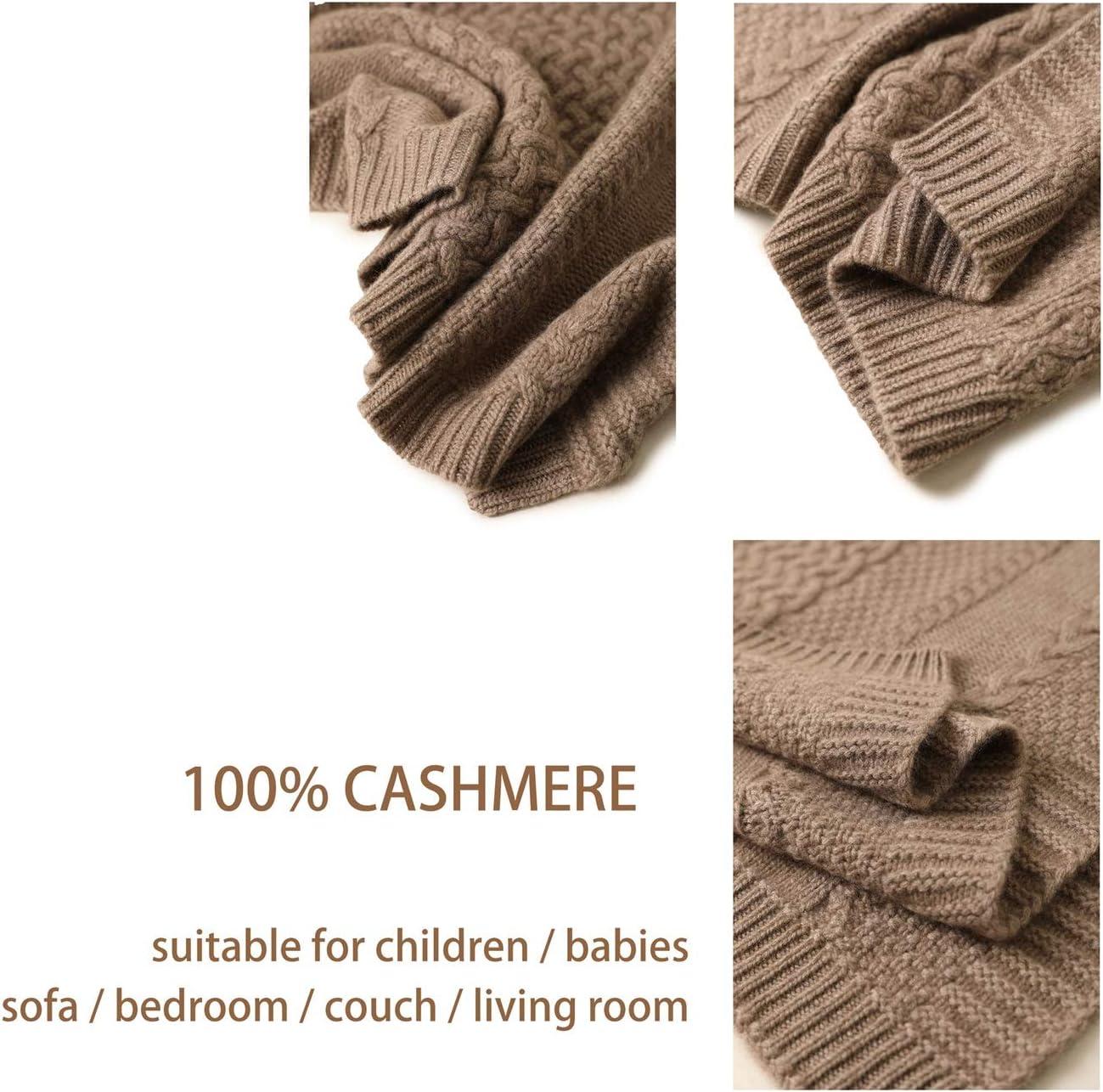 100% Couverture en cachemire, Blanket confortable ultra-doux Voyage Thicken Deluxe Fluffy Dense Lightweight en peluche Microfibre for enfants et bébés, 110X75cm (Color : A) B