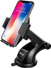 Soporte Móvil Coche, Beikell Soporte del Coche Móvil Universal para Parabrisas y Salpicadero con Ventosa de Gel Fuerte y Brazo Ajustable Giro 360 Grado para iPhone X/8/7/6/ Samsung S7/S8 y Más