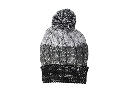 Smartwool Isto Retro Beanie (Black/Medium Gray Heather) Beanies