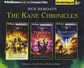 Rick Riordan's The Kane Chronicles (Bundle): The Red Pyramid, The Throne of Fire, The Serpent's Shadow