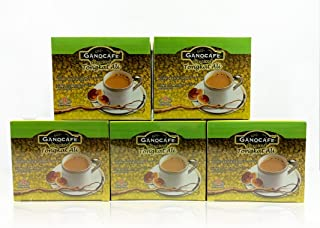 5 Boxes Gano Excel GanoCafe Ginseng Tongkat Ali Coffee With Ganoderma Extract + FREE Express Shipping Arrives Within 2-3 Days + Free 5 Sachets Gano Excel NG Gano Koppe 3 in 1