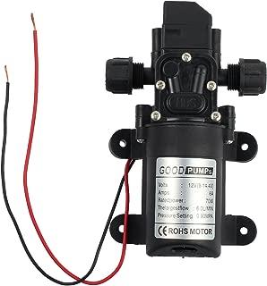 Neoteck DC 12V 70W High Pressure Micro Diaphragm Water Pump Automatic Switch 6L/min