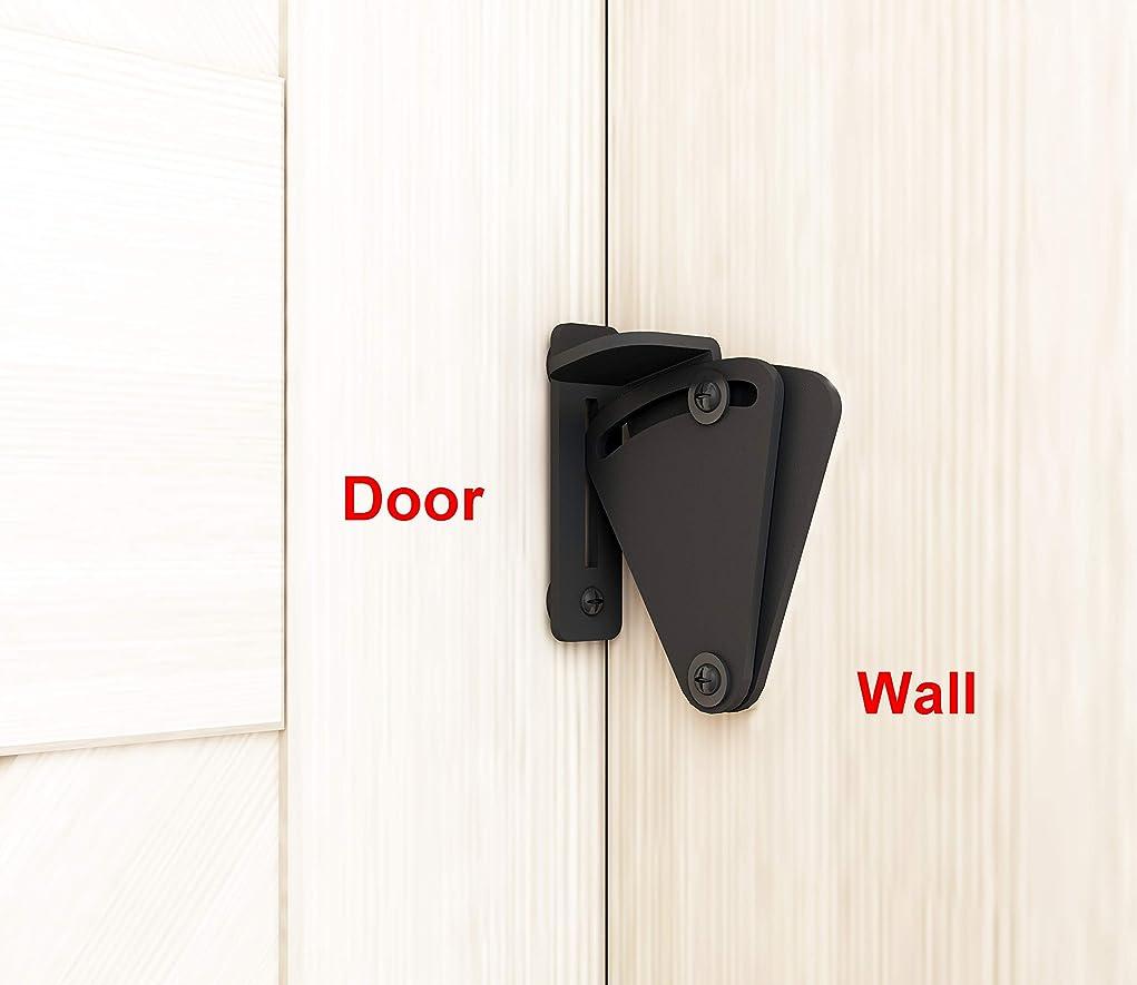 処理する拡張オーストラリア人DIYHD 黒いロック納屋の引き戸専用ロック