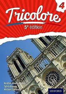 Tricolore 5e edition Student Book 4 (OP SECONDARY COURSES)
