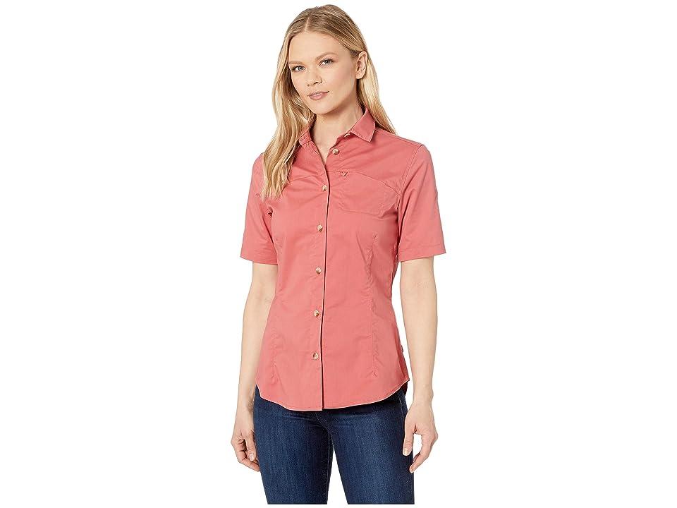 Fjallraven High Coast Stretch Short Sleeve Shirt (Dahlia) Women