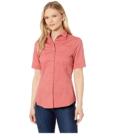 Fjallraven High Coast Stretch Short Sleeve Shirt (Dahlia) Women