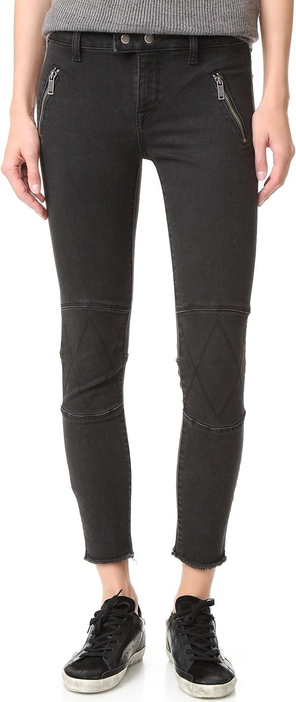 DL1961 Women's Jessica Alba No. 4 Instasculpt Cropped Moto Jeans