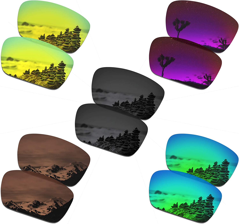 SmartVLT Set of 5 Men's wholesale Replacement Cell for Over item handling Oakley Lenses Fuel