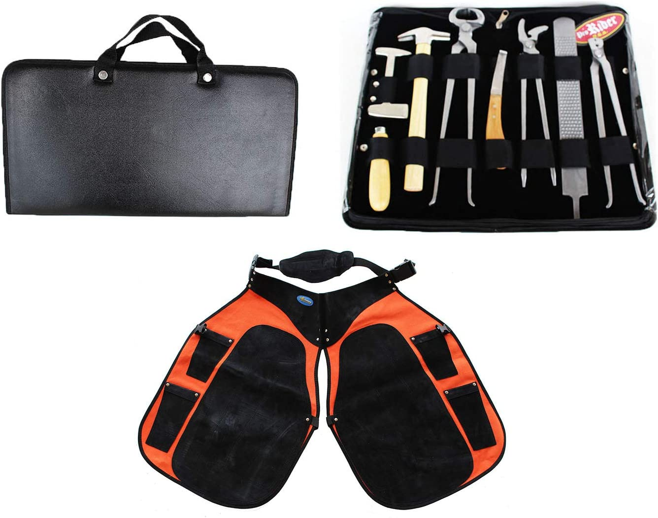 CHALLENGER [Alternative dealer] 8 Challenge the lowest price of Japan Piece Horse Farrier Hoof Kit Carry Ba Grooming Tool