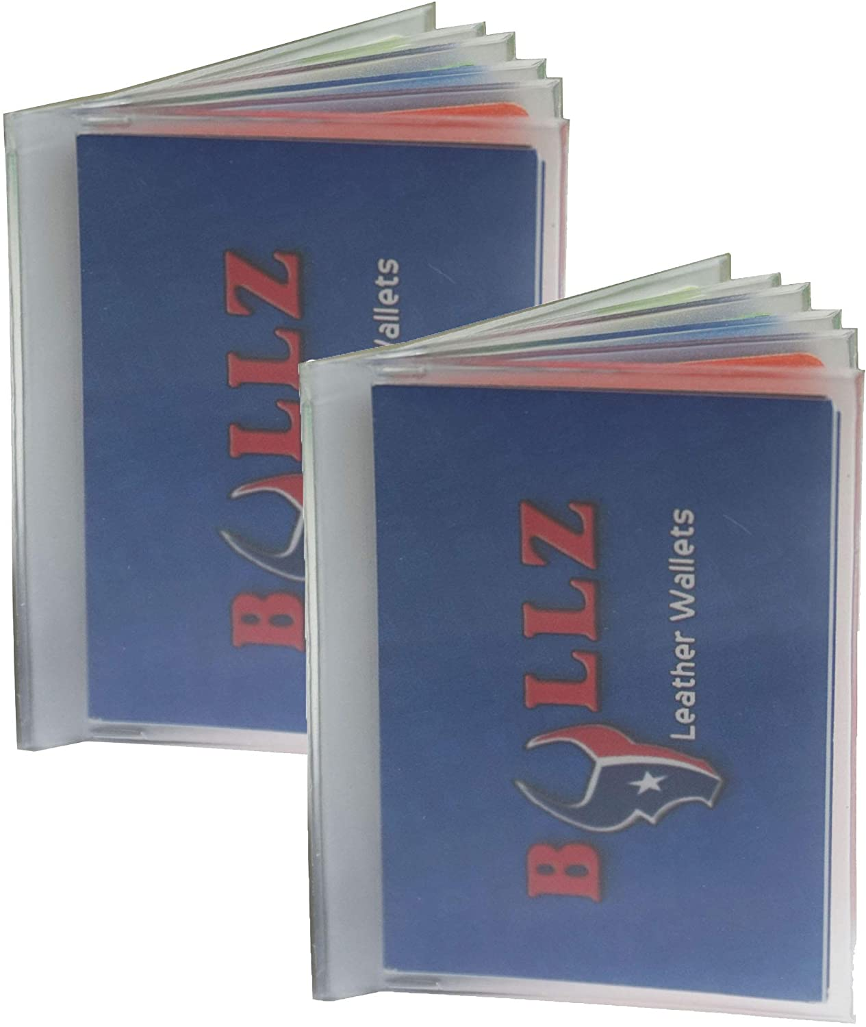 Set of 2 Heavy Duty Vinyl 6 Insert Sales Pages for Bifold Trifolds Discount is also underway or