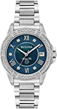 Bulova Womens Marine Star Diamonds - 96R215 (Certified Refurbished)