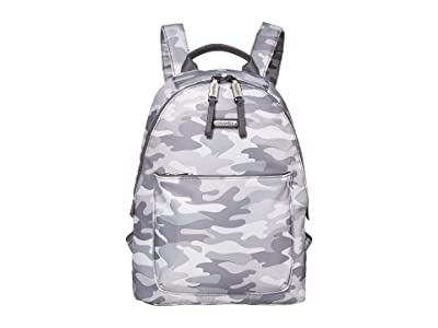 Baggallini Central Park Backpack (Grey Camo) Backpack Bags