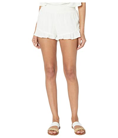 Volcom Coco Smocked Short (White) Women