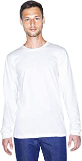 American Apparel Unisex Fine Jersey Crewneck Long Sleeve T-Shirt