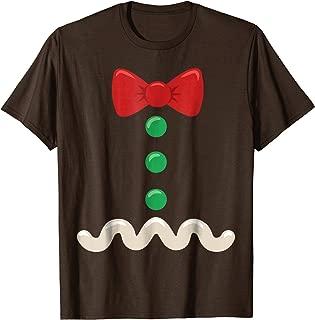 Gingerbread Man Christmas Costume T-Shirt