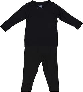 Basic Long Sleeve Pajama Set in Midnight, 4T