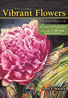 Painting Vibrant Flowers in Watercolor