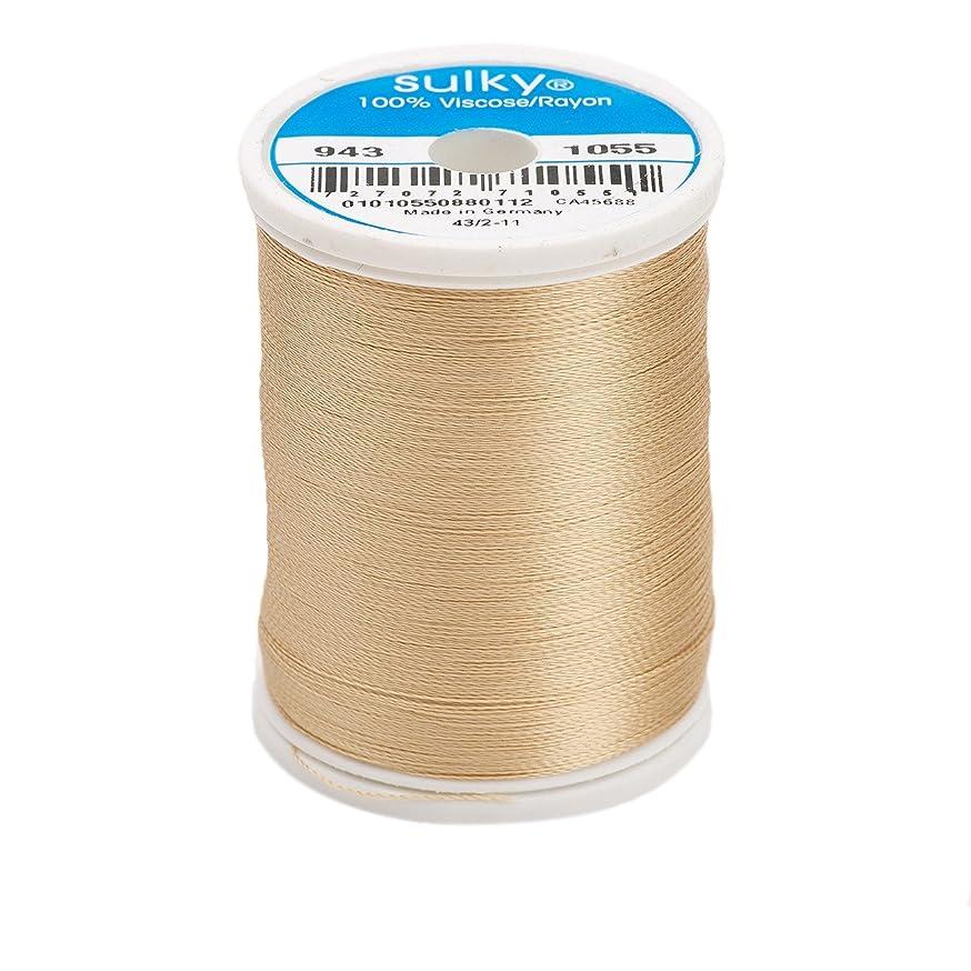 Sulky Of America 268d 40wt 2-Ply Rayon Thread, 850 yd, Tawny Tan