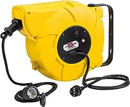 Brennenstuhl automatische kabelhaspel IP44 / 1241000300, automatische kabelhaspel voor buiten, 16 + 2m kabel, voor wand- e...