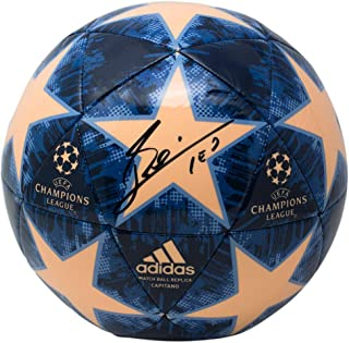 Lionel Messi Signed UCL Match Replica Soccer Ball ICONS JSA