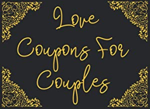 Love Coupons For Couples: 40 Premium Black Cards For Couples, Perfect Gift for Boyfriend, Wife, Husband, Girlfriend for th...