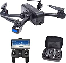 $154 » Contixo F22 Plus Foldable GPS 1080P Camera Photography Drone | Selfie, Gesture, Follow Me, Gimbal RC WiFi FPV Quadcopter Beginners Drone with Camera 40 Minutes Flying Time 2 Batteries Veterans Day