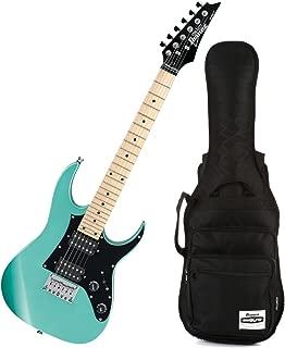 Ibanez GRGM21M MIKRO Metallic Light Green Mini Electric Guitar w/ Gig Bag
