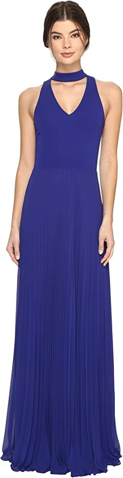 Nicole Miller - Blair Pleated Gown