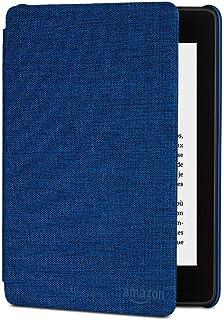 حافظة قماشية مقاومة للماء لجهاز Kindle Paperwhite من Amazon، الجيل العاشر، إصدار 2018 - ازرق